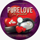 Pure Love CD Cover - GraphicRiver Item for Sale