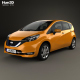 Nissan Note e-Power (JP) 2016 - 3DOcean Item for Sale