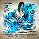 Winter Latino Party Flyer - GraphicRiver Item for Sale