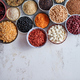 Free Download Organic superfood assortment in bowls Nulled