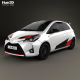 Toyota Yaris GRMN 2017 - 3DOcean Item for Sale
