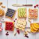 Assortment of healthy fresh breakfast toasts - PhotoDune Item for Sale