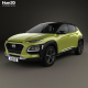 Hyundai Kona 2018 - 3DOcean Item for Sale