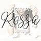 Rossa Script - Logo Font - GraphicRiver Item for Sale