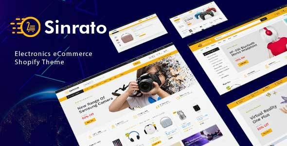 Sinrato - Mega Shop Shopify Theme