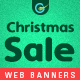 Christmas Sale Web Banner Set - GraphicRiver Item for Sale