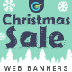 Merry Christmas Sale Web Banner Set - GraphicRiver Item for Sale