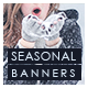 Seasonal Sale Web Banner Set - GraphicRiver Item for Sale