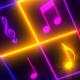 Music Notes Glowing - VideoHive Item for Sale