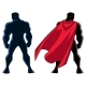 Superhero Back Silhouette - GraphicRiver Item for Sale
