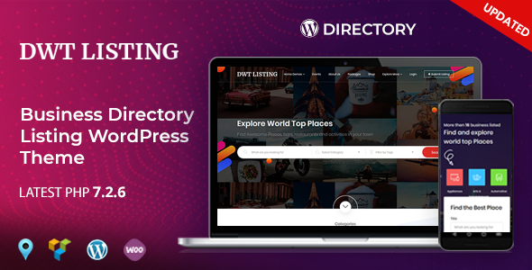 DWT Listing - Directory & Listing WordPress Theme - Directory & Listings Corporate