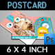 Pet Grooming Salon Postcard Template - GraphicRiver Item for Sale