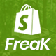 Freak - Fashion Shopify Theme Multipurpose Responsive Template - ThemeForest Item for Sale