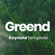 Greend Keynote Presentation Template - GraphicRiver Item for Sale