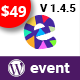 EvenTalk - Event Conference WordPress Theme for Event and Conference - ThemeForest Item for Sale