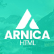 Free Download Arnica - Creative Coming Soon Template Nulled