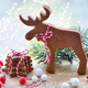 Christmas cookies with christmas decorations against the backgro - PhotoDune Item for Sale