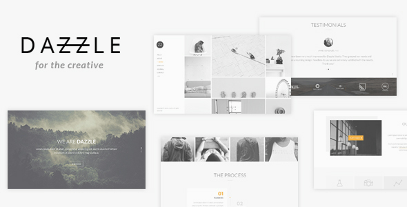 Dazzle - Portfolio Theme for Creative Professionals - Portfolio Creative