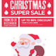 Christmas Super Sale Flyer - GraphicRiver Item for Sale