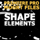 Shape Elements And Transitions - VideoHive Item for Sale