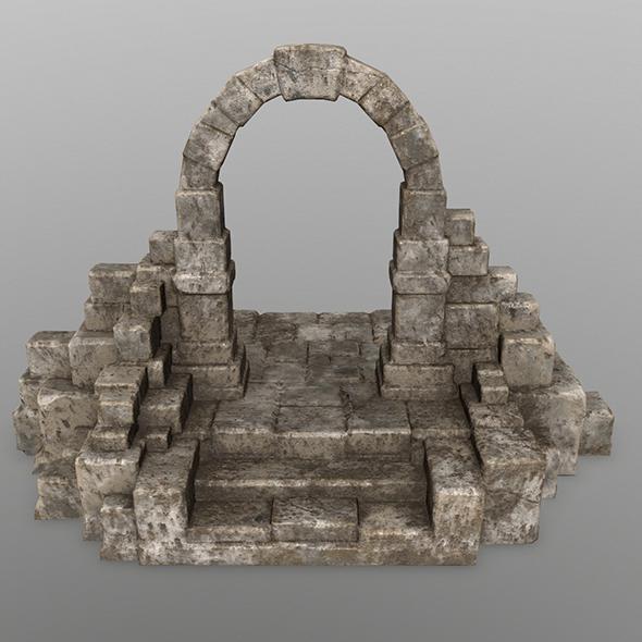 gate 8 - 3DOcean Item for Sale