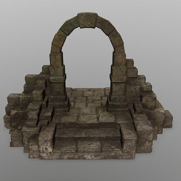 gate 9 - 3DOcean Item for Sale