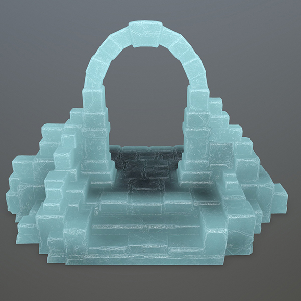ice gate - 3DOcean Item for Sale