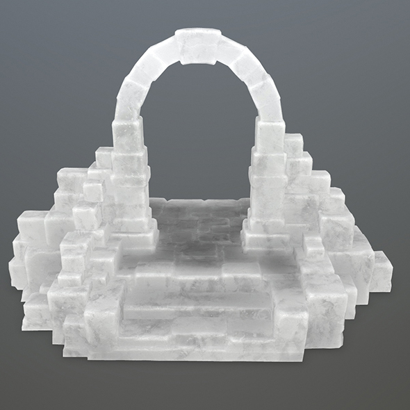ice gate 1 - 3DOcean Item for Sale