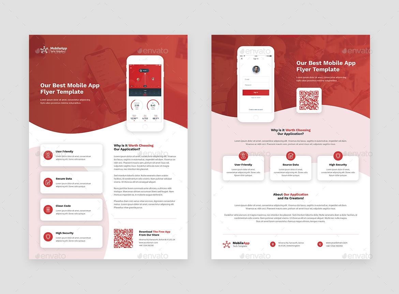 Flyer – Mobile App