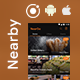 NearBy Places Android App + iOS App Template | NearGo (HTML+CSS files IONIC 3)