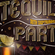 Free Download Tequila Party Flyer Nulled
