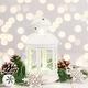 Lantern with fairy lights - PhotoDune Item for Sale