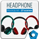 Headphones Mockup Kit - GraphicRiver Item for Sale