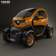 Renault Twizy ZE Cargo 2013 - 3DOcean Item for Sale