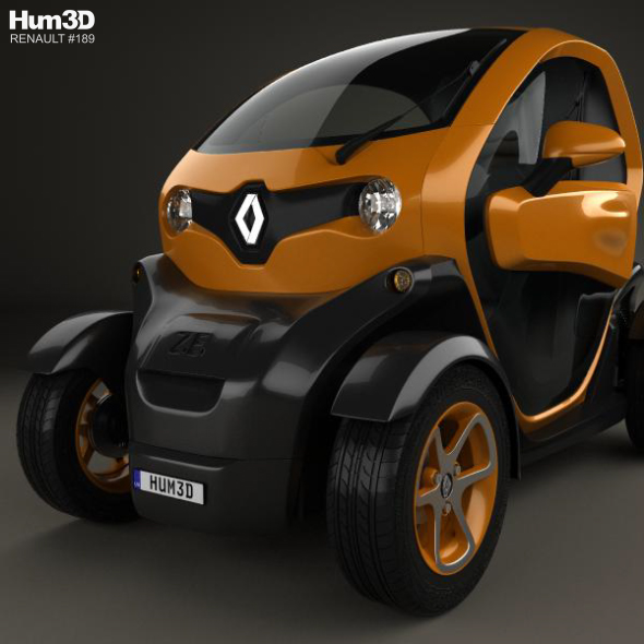 Renault Twizy: Renault Twizy ZE Cargo 2013 By Humster3d