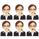 Business Woman Expressions Set - GraphicRiver Item for Sale