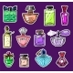 Set of Women's Perfume in a Bottle - GraphicRiver Item for Sale