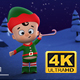 Santa & Elf Christmas, New year Animation Opener - VideoHive Item for Sale
