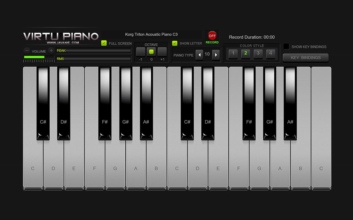 d31c5bc4ca0 Virtu Piano - HTML5 Virtual Piano by Javanie