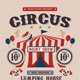 Circus Carnival Show Flyer - GraphicRiver Item for Sale