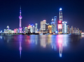 shanghai skyline and beautiful reflections - PhotoDune Item for Sale