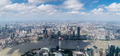 shanghai panorama, high angle of view, modern metropolis landscape - PhotoDune Item for Sale