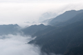 lushan mountain landscape of clouds and mists drifting in the valley,  China - PhotoDune Item for Sale