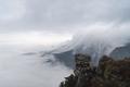 waterfall clouds in lushan mountain,  jiangxi province, China - PhotoDune Item for Sale