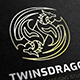 Twins Dragon Logo - GraphicRiver Item for Sale