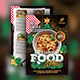 Christmas Food Menu Flyer - GraphicRiver Item for Sale