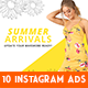 Instagram Fashion Banner #18 - GraphicRiver Item for Sale