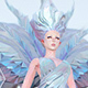 Free Download low Polygon Art White Angel A. Women 3d Model Nulled
