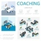 Isometric Coaching Infographic Concept - GraphicRiver Item for Sale