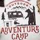 Adventure Camp Badges - GraphicRiver Item for Sale